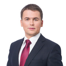 Mateusz Sieradzki - Photo session on election materials