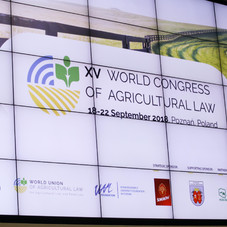 XV World Congress of  Agricultural Law